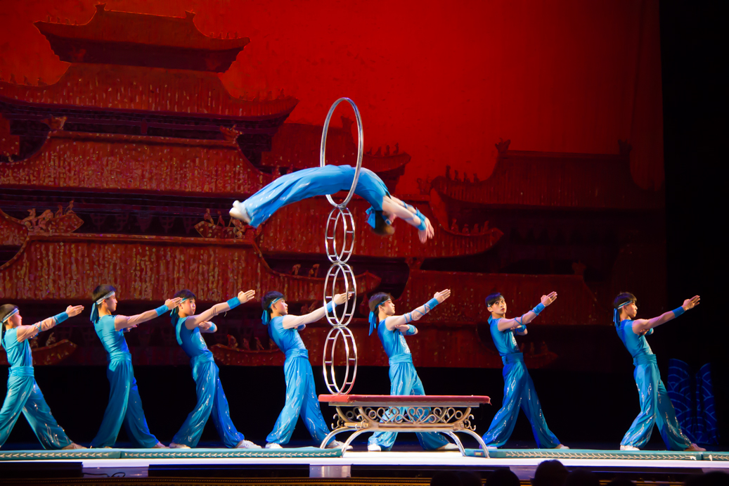 Acrobats of China in Branson