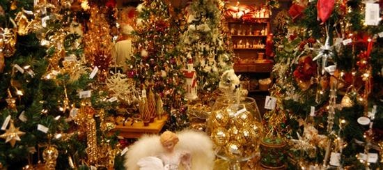 the store offers the largest selection of awe inspiring collection of decorated themed trees and one of a kind handmade santas kringles christmas - Largest Christmas Store