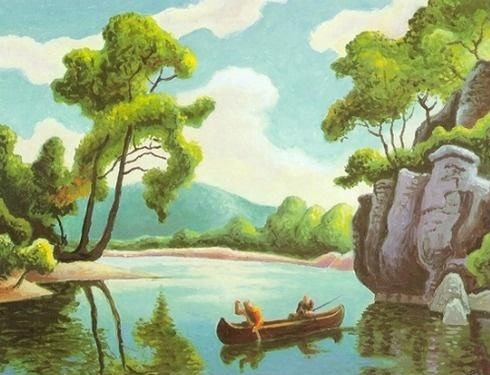 Table Rock Lake Painting