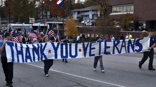 Veteran's week in Branson