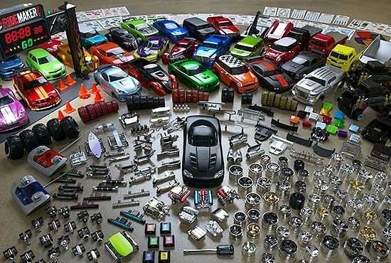 customized toy cars
