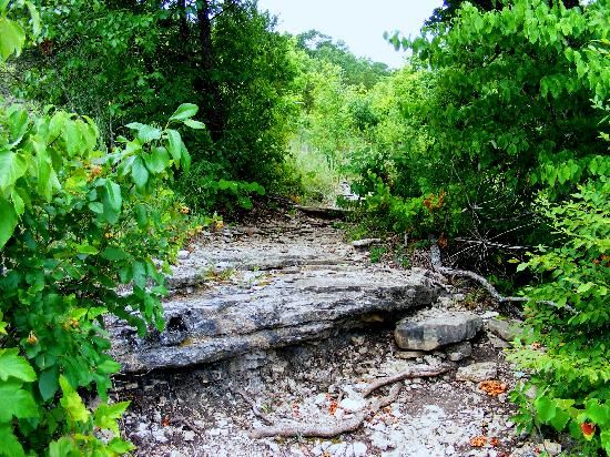 hiking trails in Branson