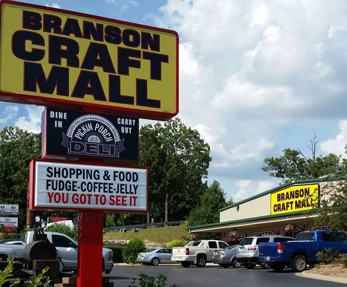 shopping and dining in Branson