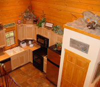 Branson MO Cabins - Fully Furnished Kitchen